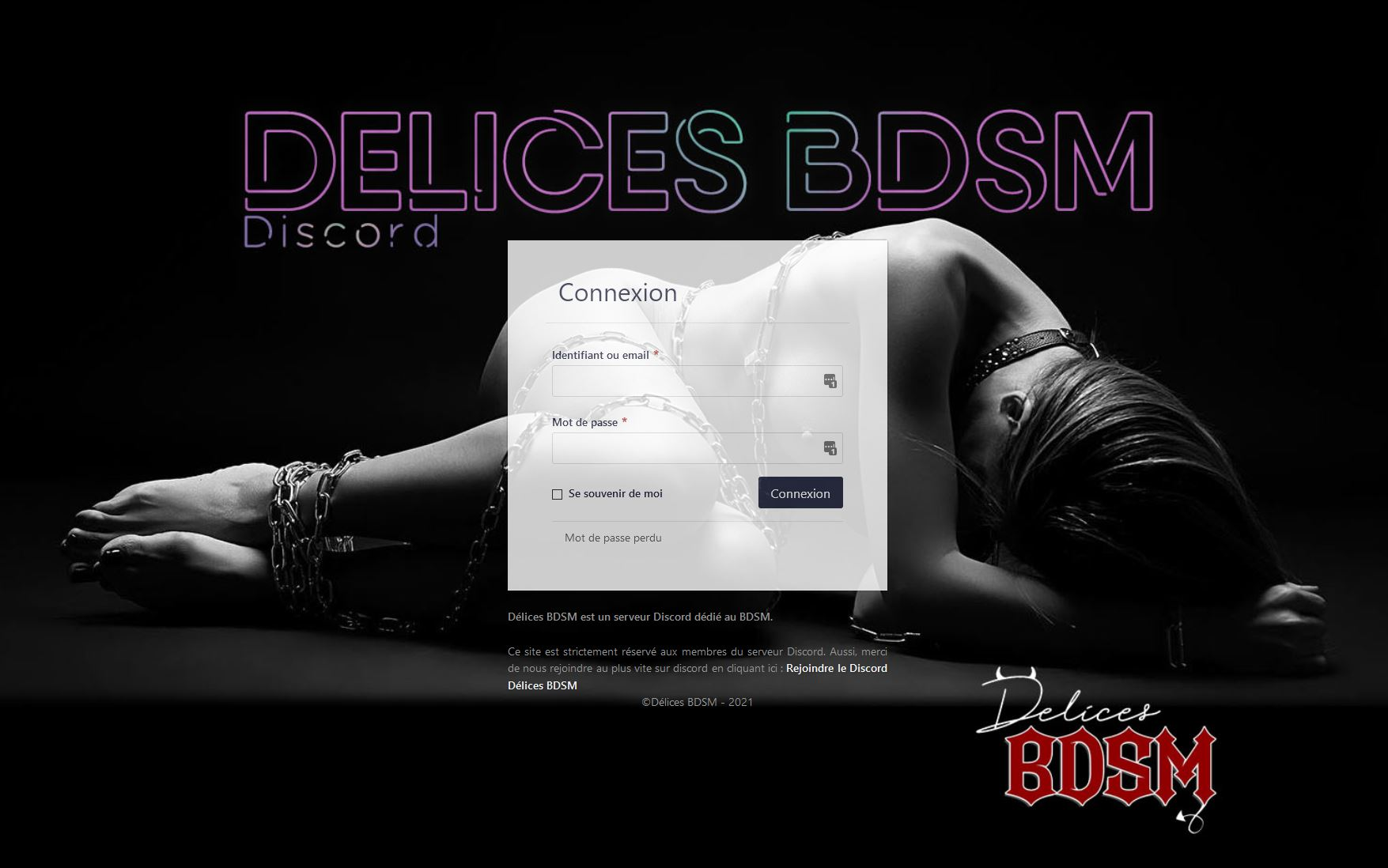 Délices BDSM - La communauté du BDSM sur discord